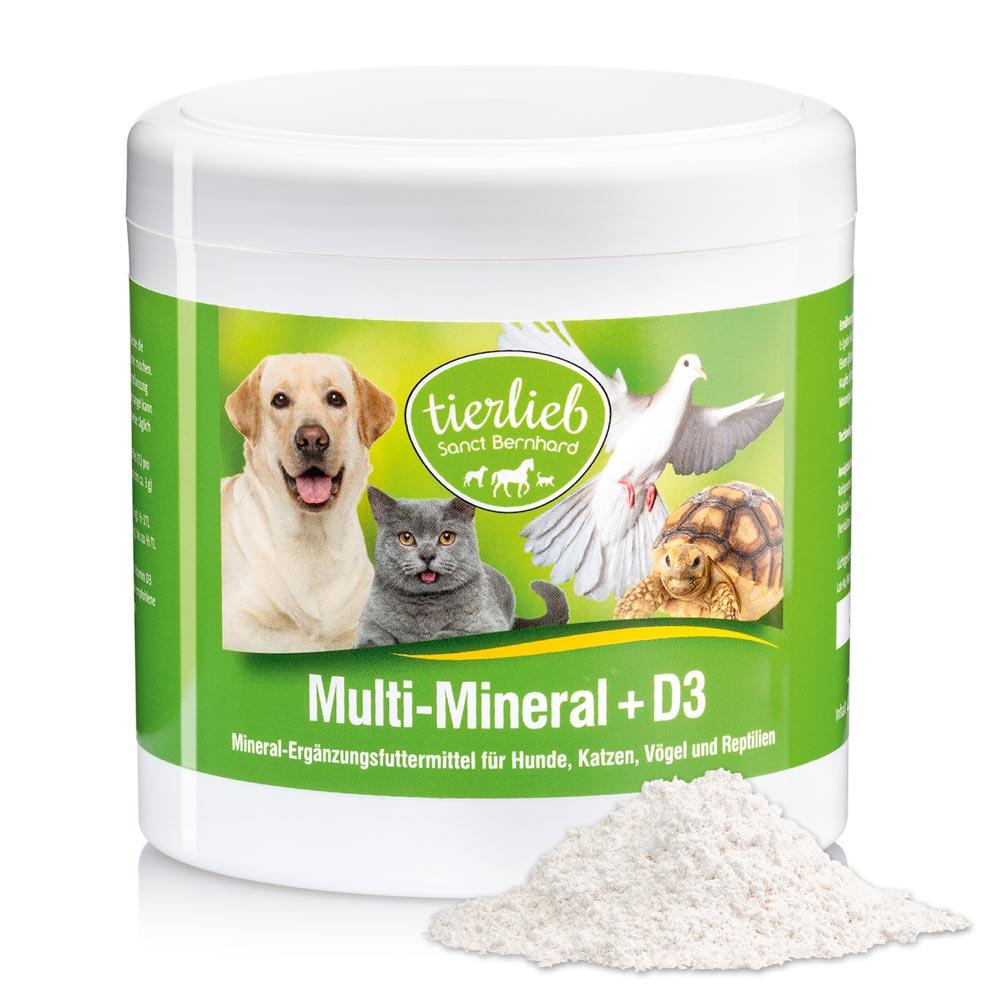 Bột uống bổ sung khoáng chất cho động vật  Multi Mineral D3