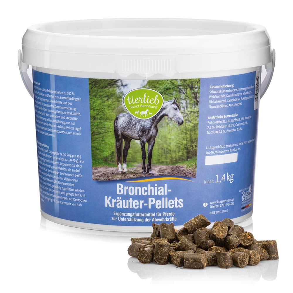 Viên thảo mộc phế quản cho ngựa Bronchial Herb