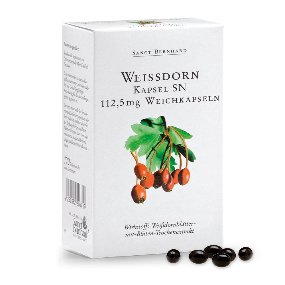 Viên nang hỗ trợ tim chiết xuất táo gai Hawthorn Capsules