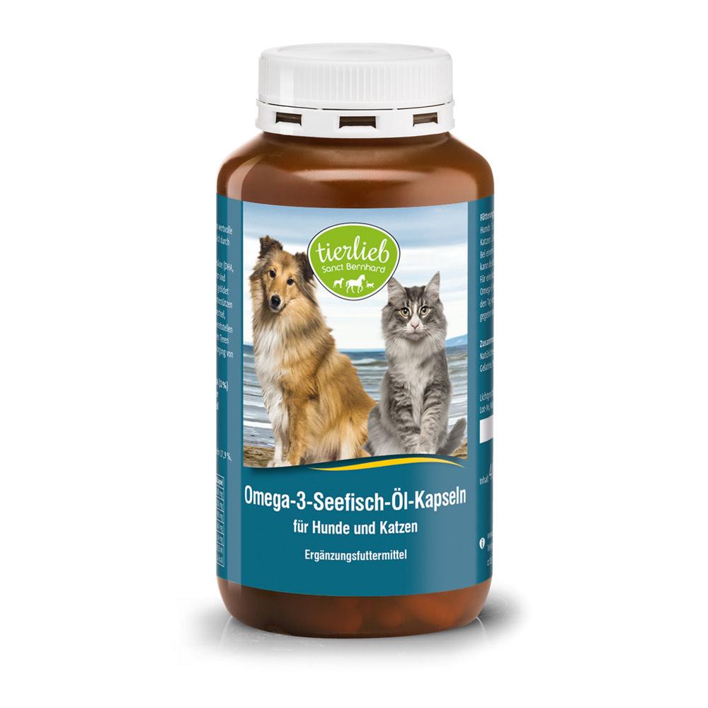 Viên nang Omega 3 dầu cá cho chó mèo Sea Fish Oil