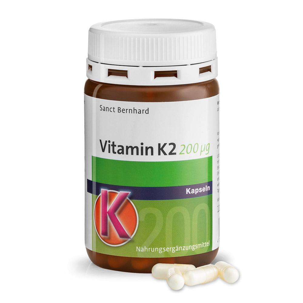 Viên nang bổ sung Vitamin K2 200 µg Capsules