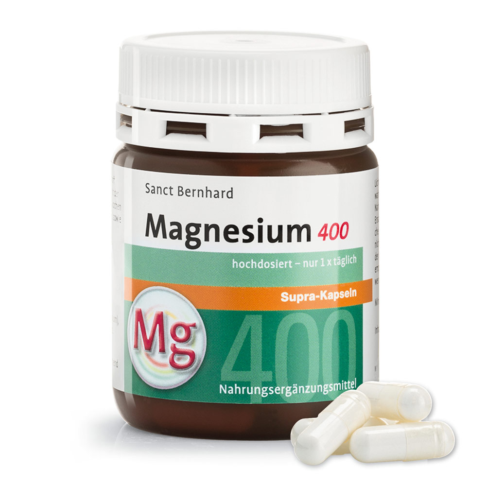 Viên nang bổ sung Magie Magnesium 400 supra
