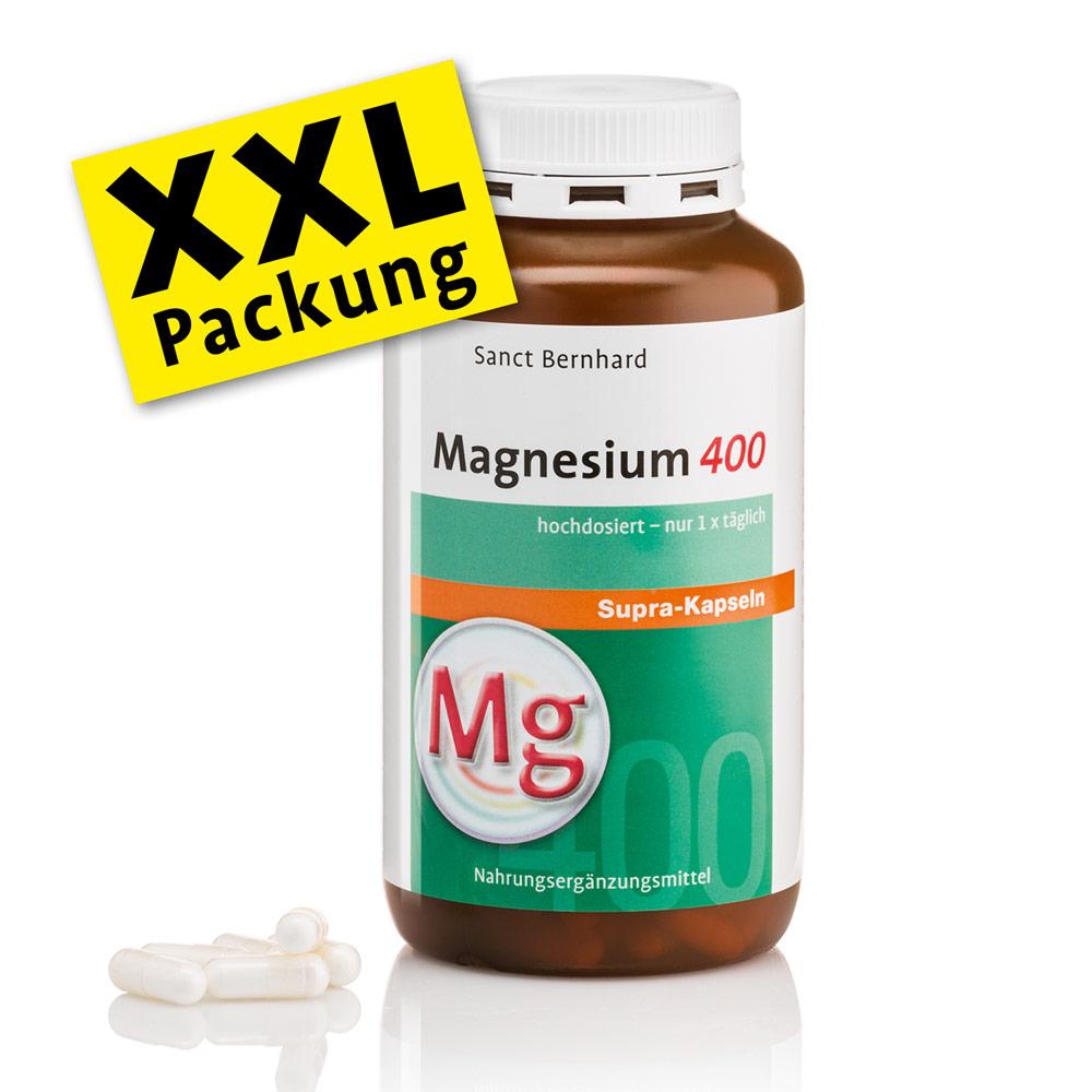 Viên nang bổ sung Magie Magnesium 400 supra XXL