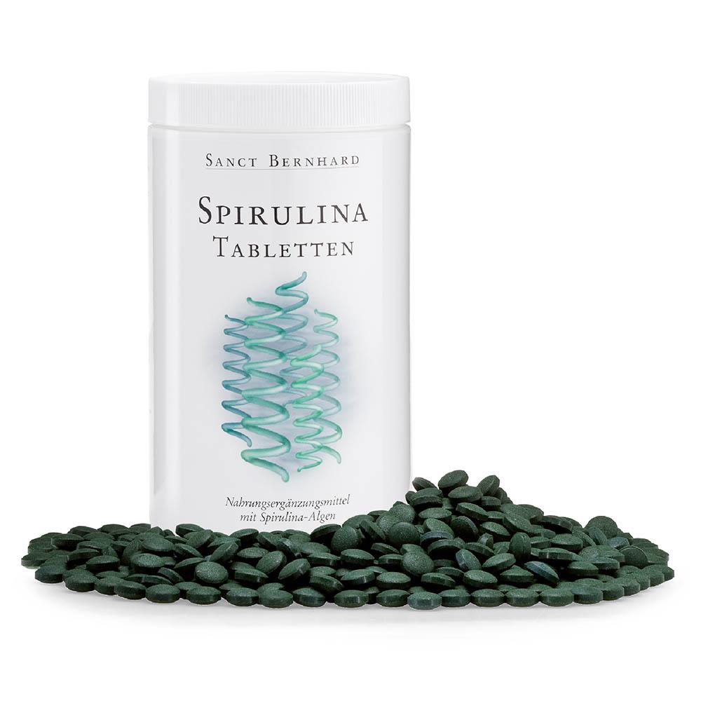 Viên nén bổ sung chất dinh dưỡng từ tảo xoắn Spirulina Tablets