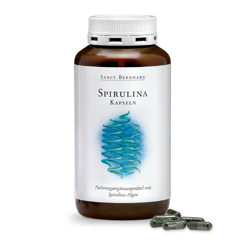 Viên nang bổ sung chất dinh dưỡng từ tảo xoắn Spirulina Tablets