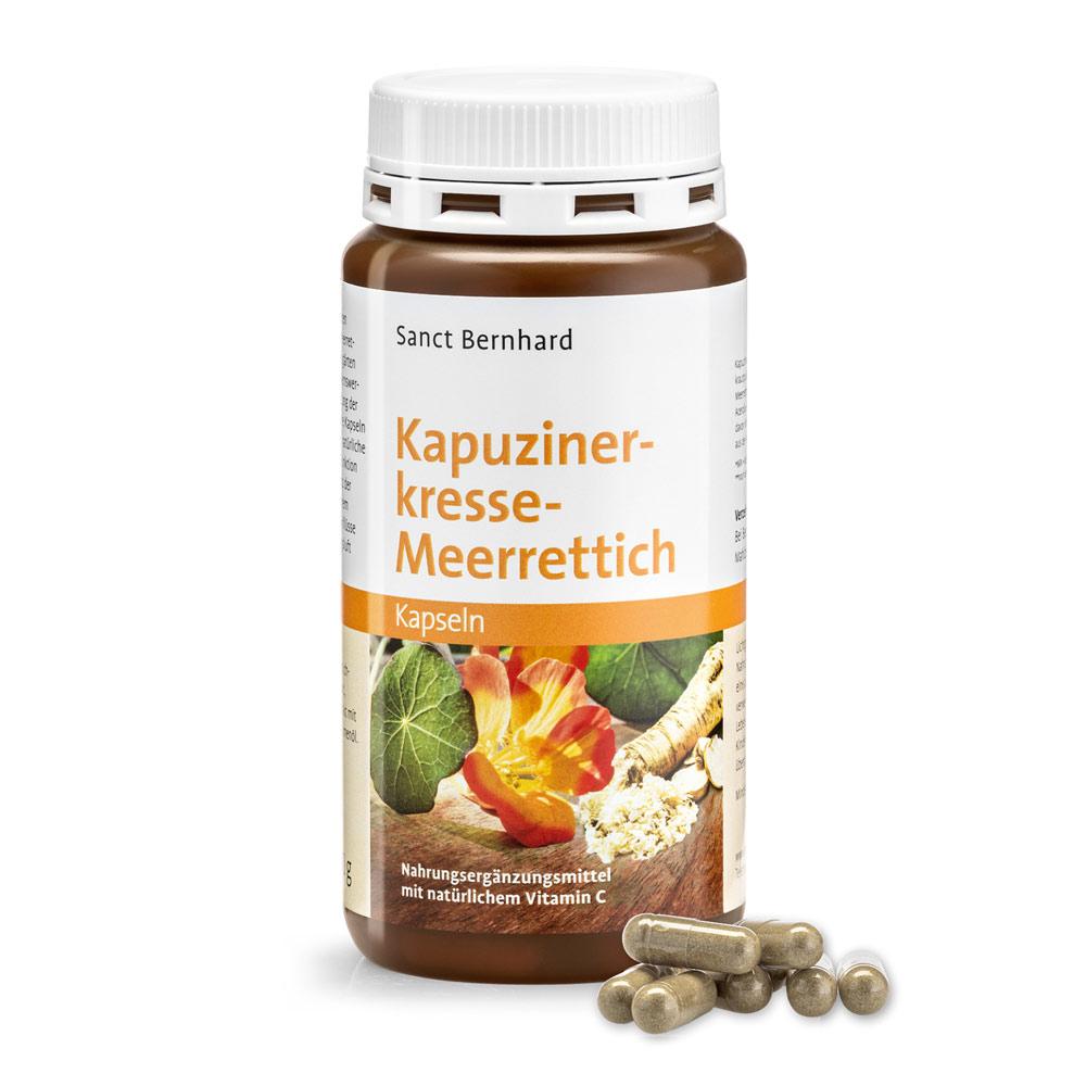 Viên nang tăng miễn dịch chiết xuất cải xoong cải ngựa Nasturtium Horseradish Capsules