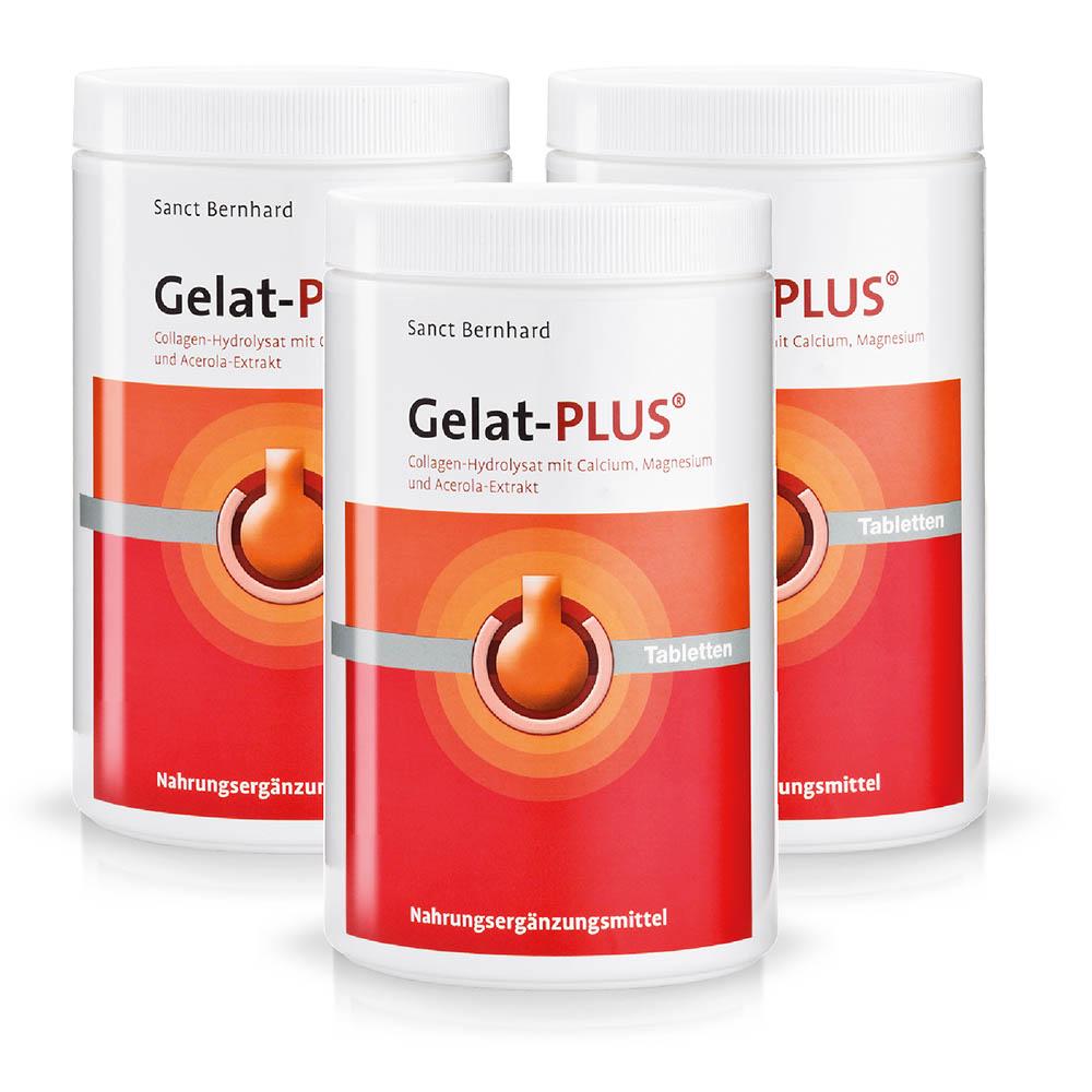 Viên nén cải thiện xương khớp từ Collagen thủy phân Gelat Plus