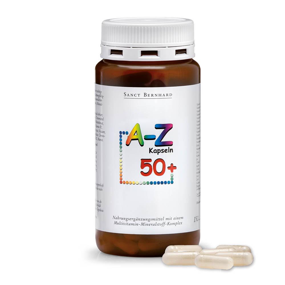 Viên nang vitamin Sanct Bernhard A Z 50+