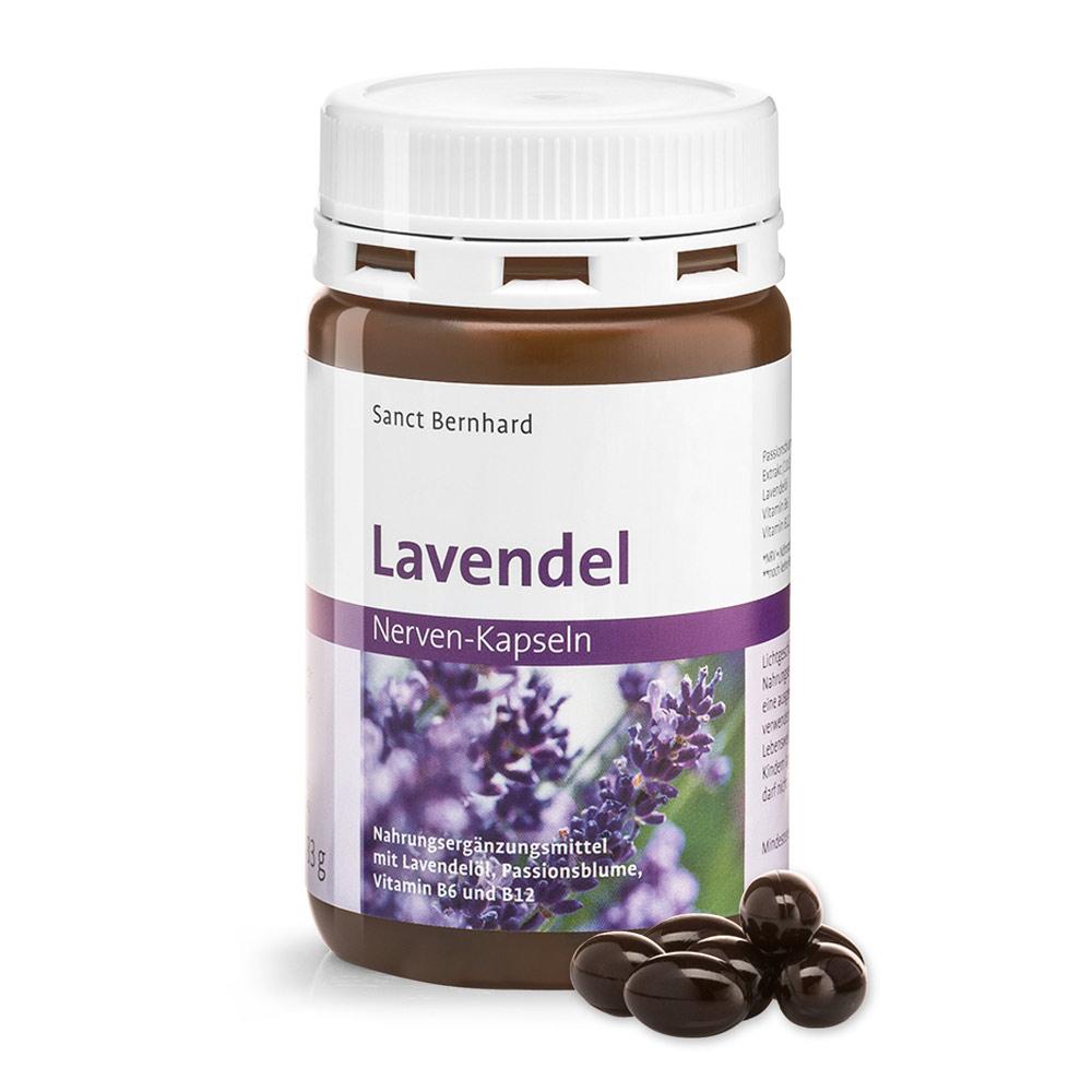 Viên nang bổ thần kinh chiết xuất hoa lạc tiên Lavender Nerve Capsules