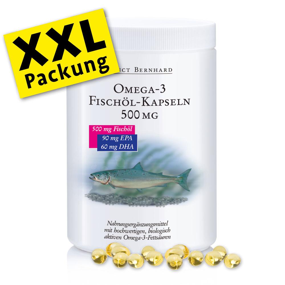 Viên nang dầu cá Omega 3 Fish Oil 500mg