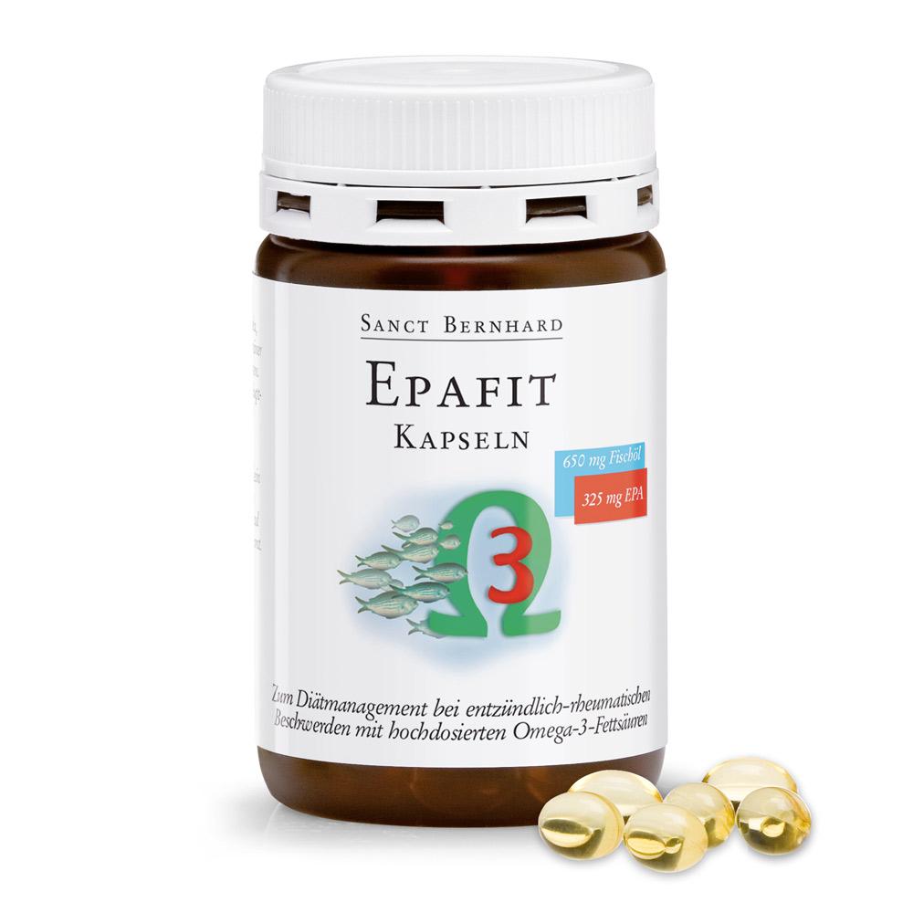 Viên nang dầu cá cô đặc Epafit Capsules