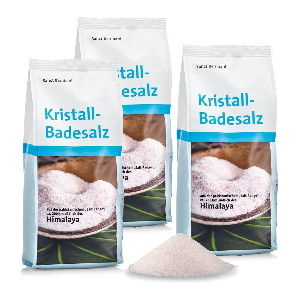 Muối tắm pha lê Himalaya Himalaya Bath Salt - Crystal Salt