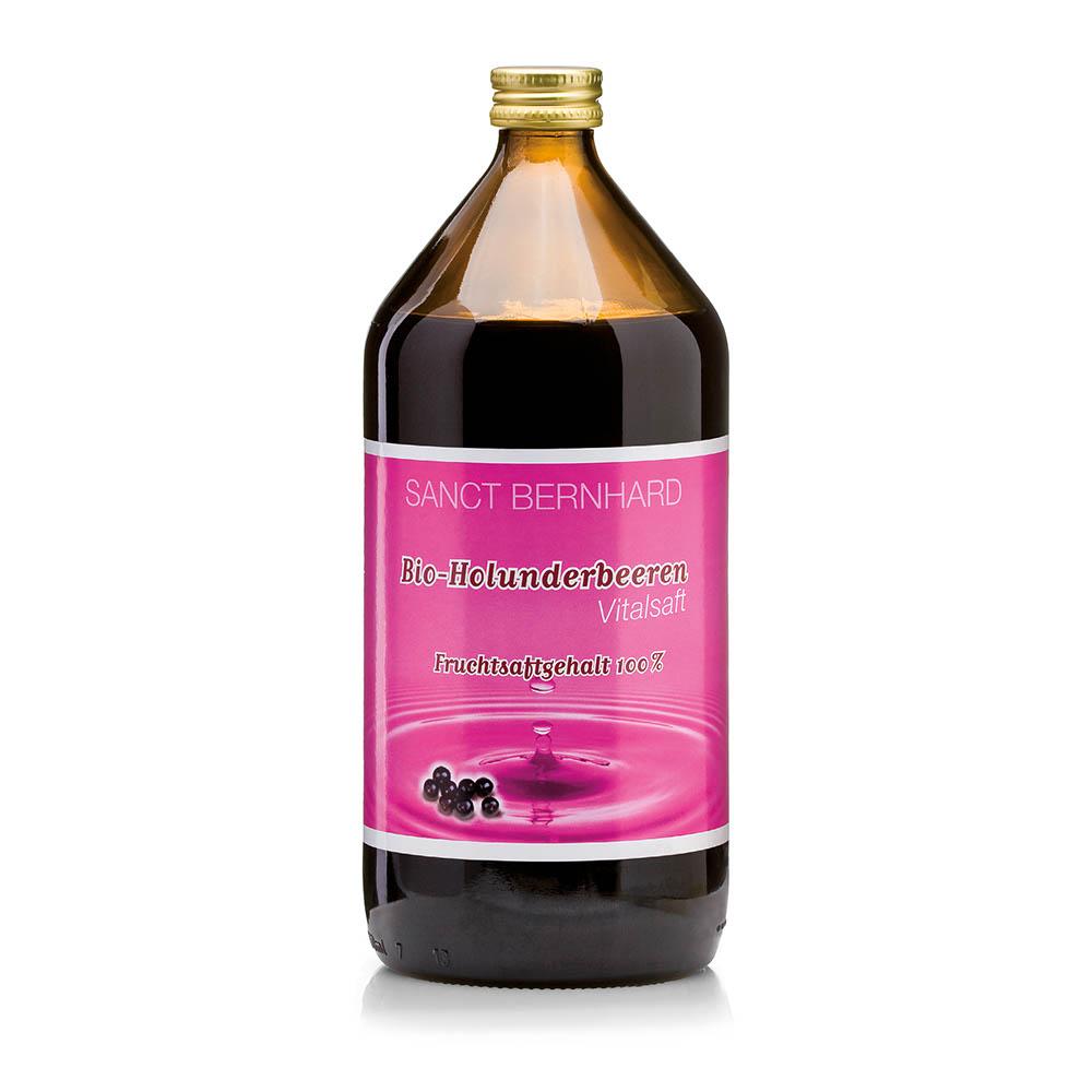 Nước ép cây cơm cháy Sanct Bernhard Organic Elderberry juice
