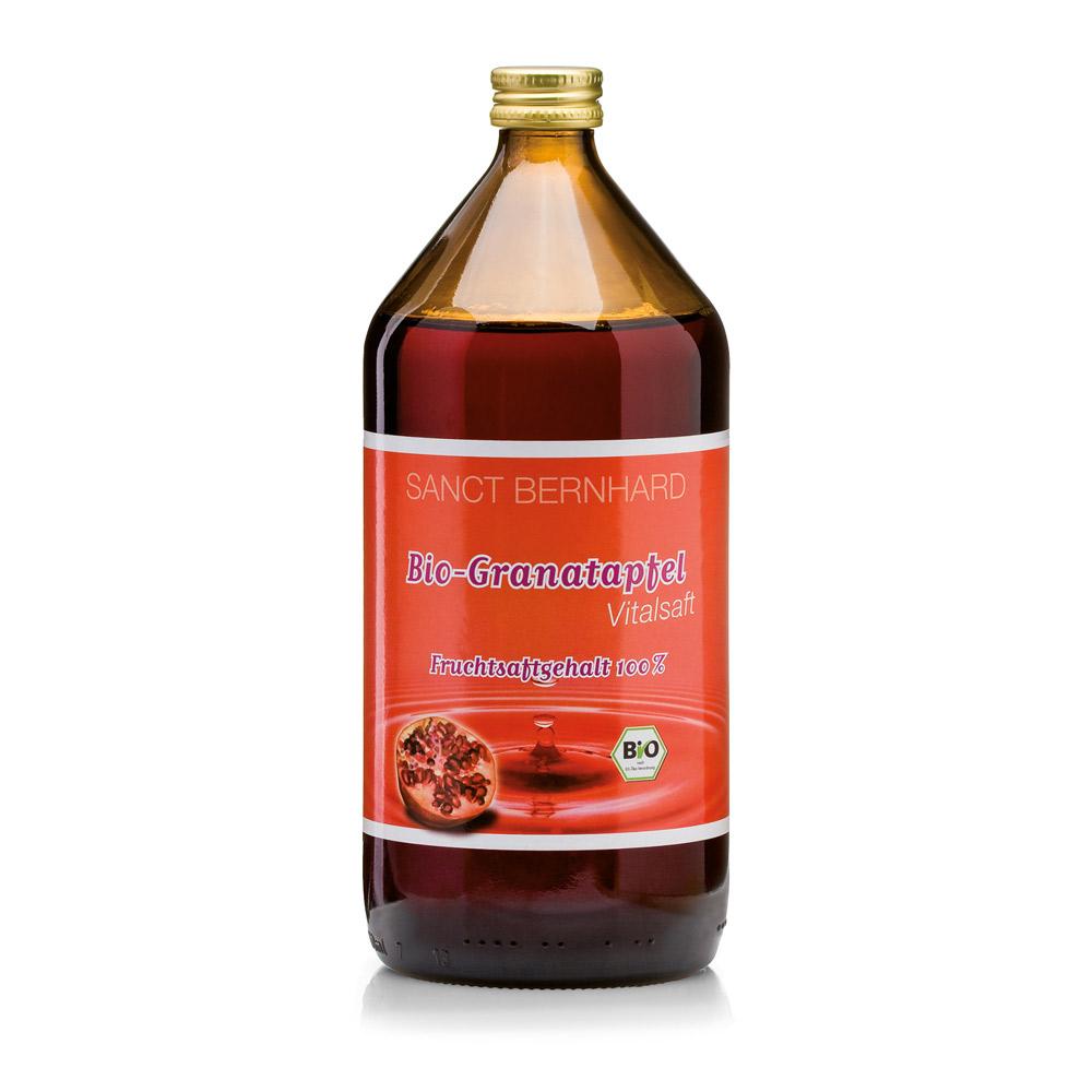 Nước ép Lựu cô đặc Sanct Bernhard Organic Pomegranate juice