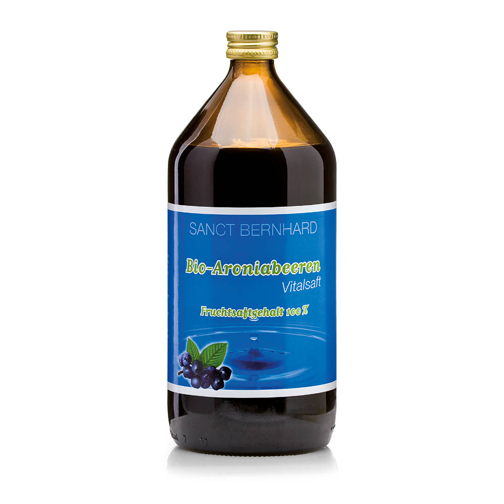 Nước ép quả anh đào Sanct Bernhard Organic Aronia Berries Juice