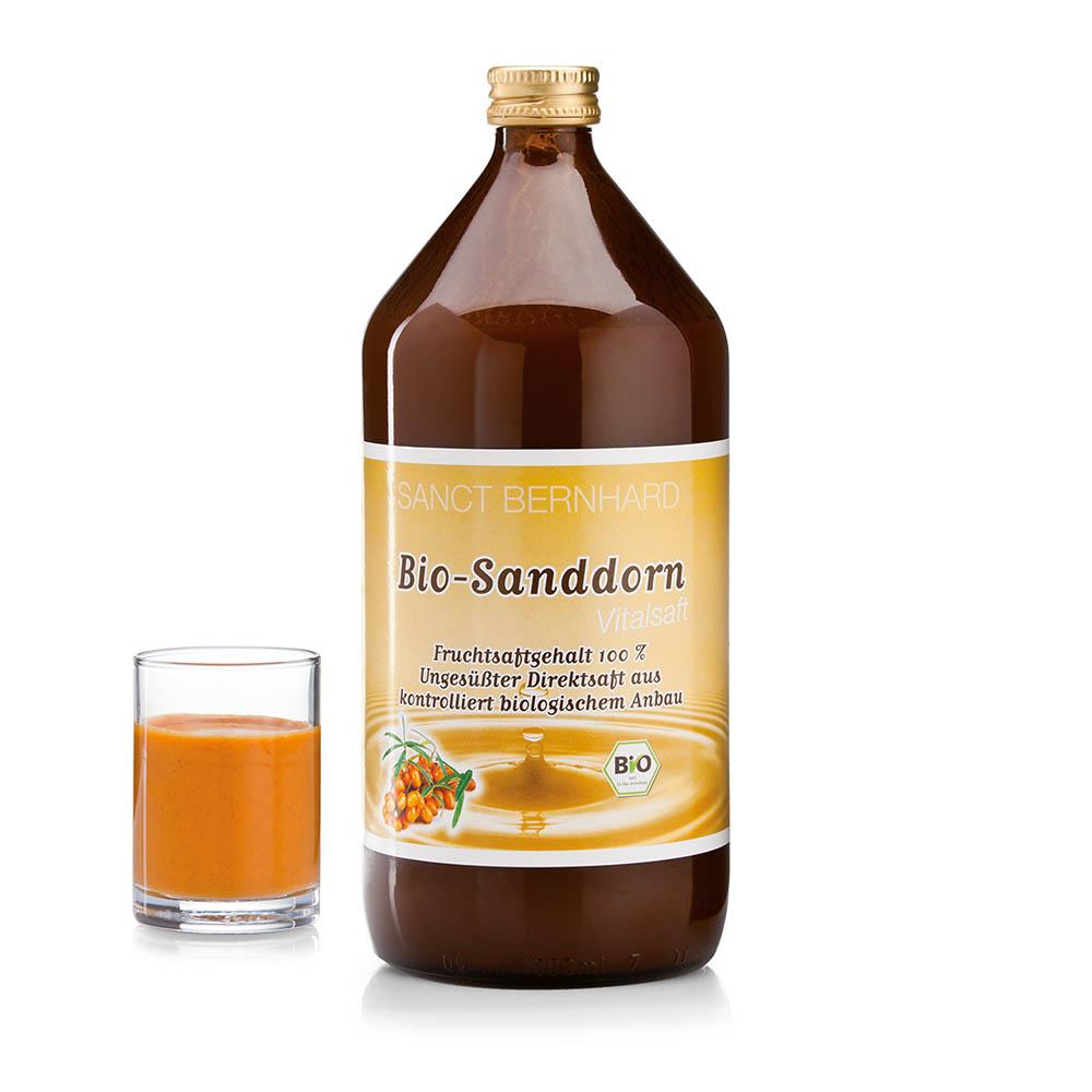 Nước ép hắc mai biển Sanct Bernhard Sea Buckthorn Juice