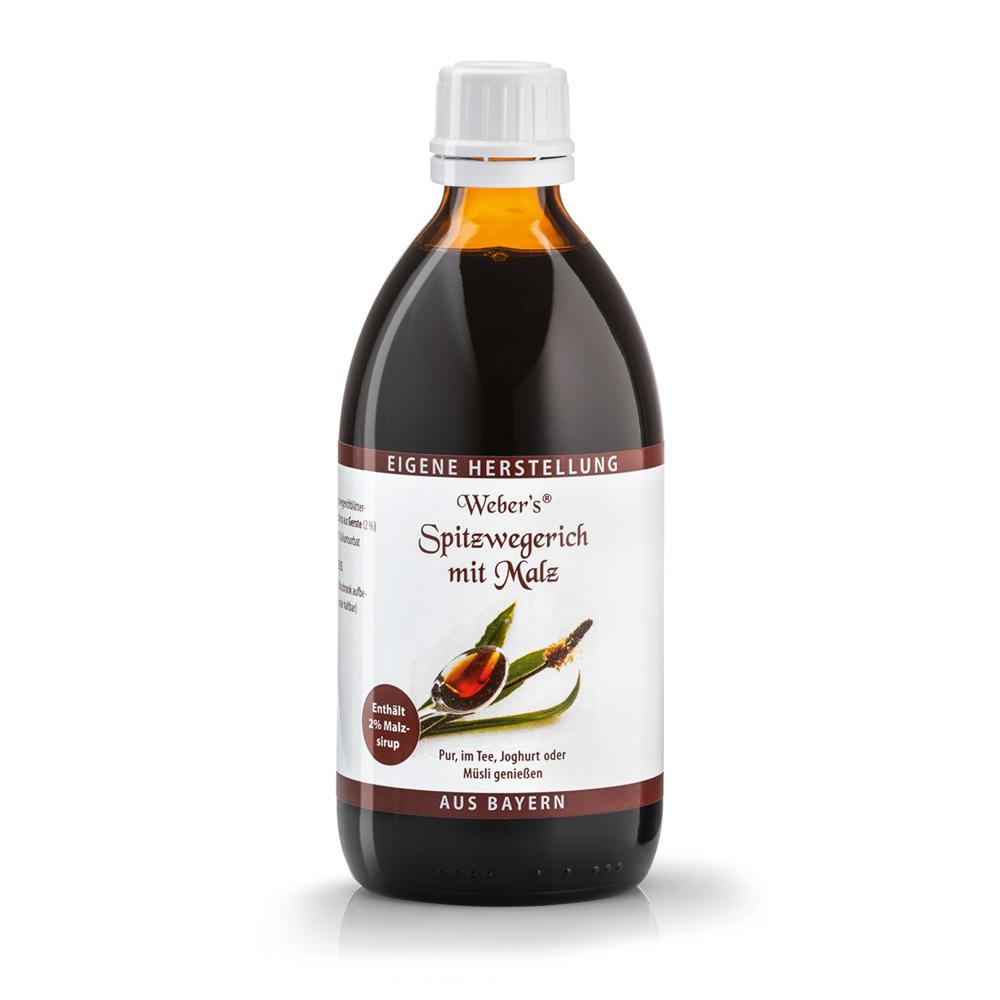 Nước trái cây chiết xuất ngải cứu và mạch nha Webers