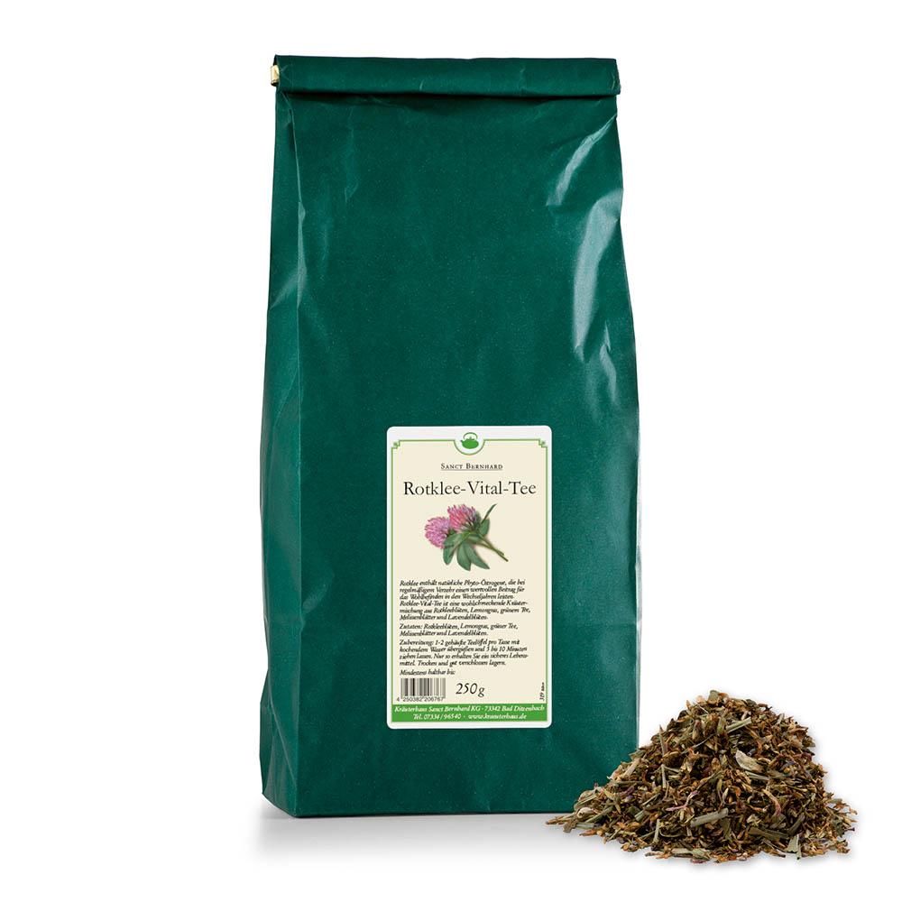 Trà cỏ ba lá đỏ giúp cải thiện giấc ngủ và nội tiết