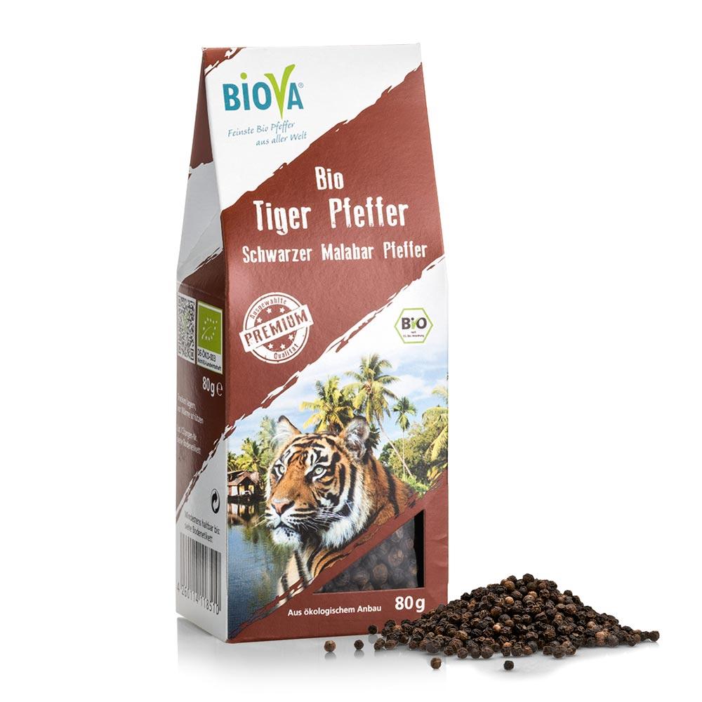 Hạt tiêu hổ hữu cơ Organic Tiger Pepper