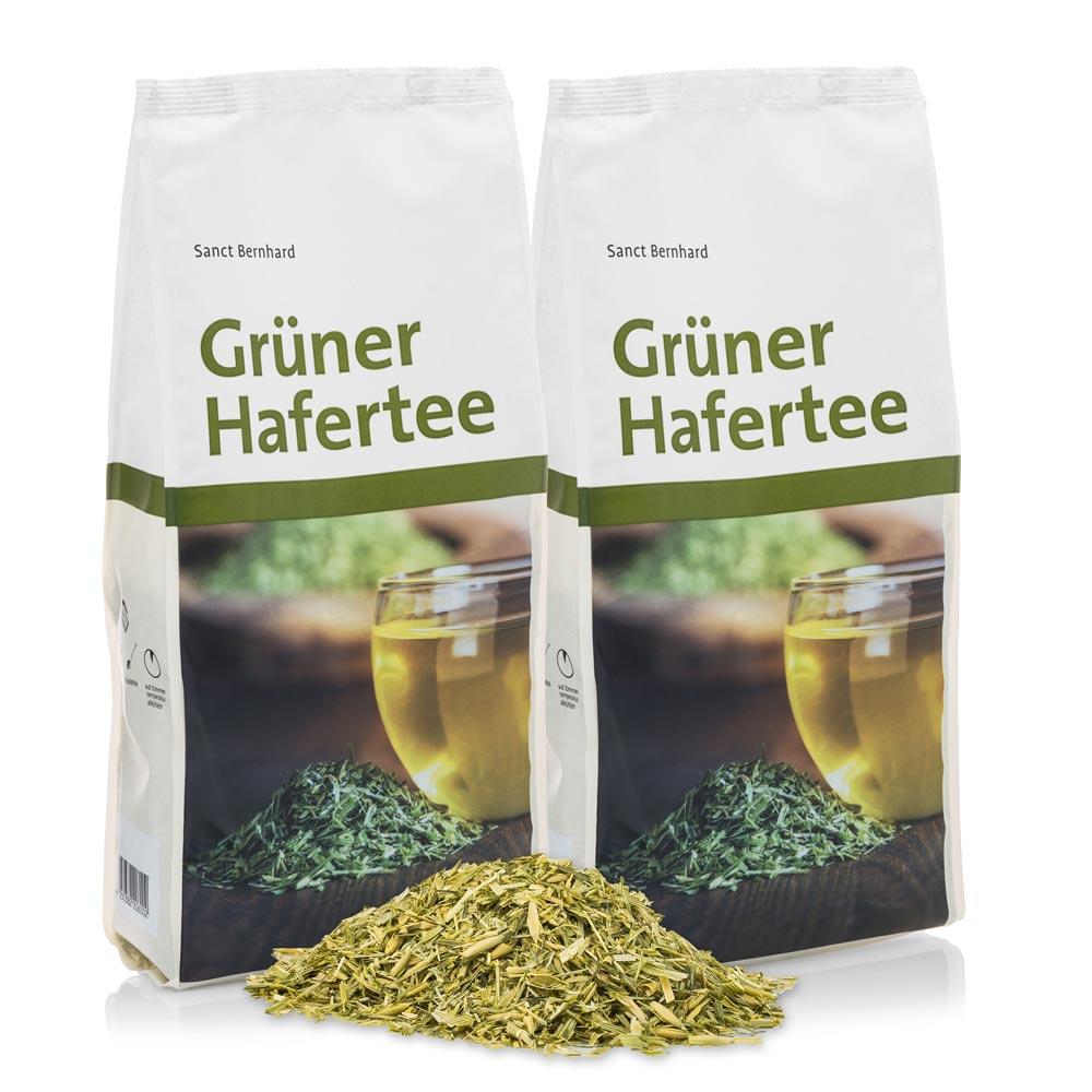 Trà yến mạch xanh bổ sung canxi Green Oat Tea