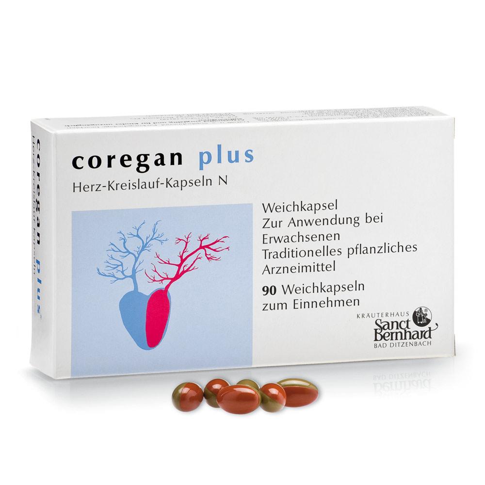 Viên nang tim mạch chiết xuất táo gai Coregan plus