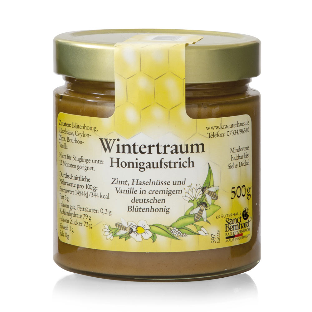 Mật ong mùa đông Winter Dream Honey Spread