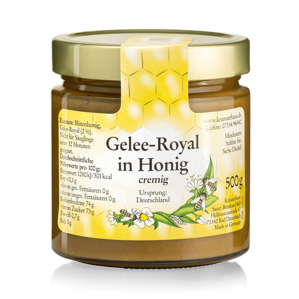 Mật ong chứa sữa ong chúa Royal Jelly in Honey