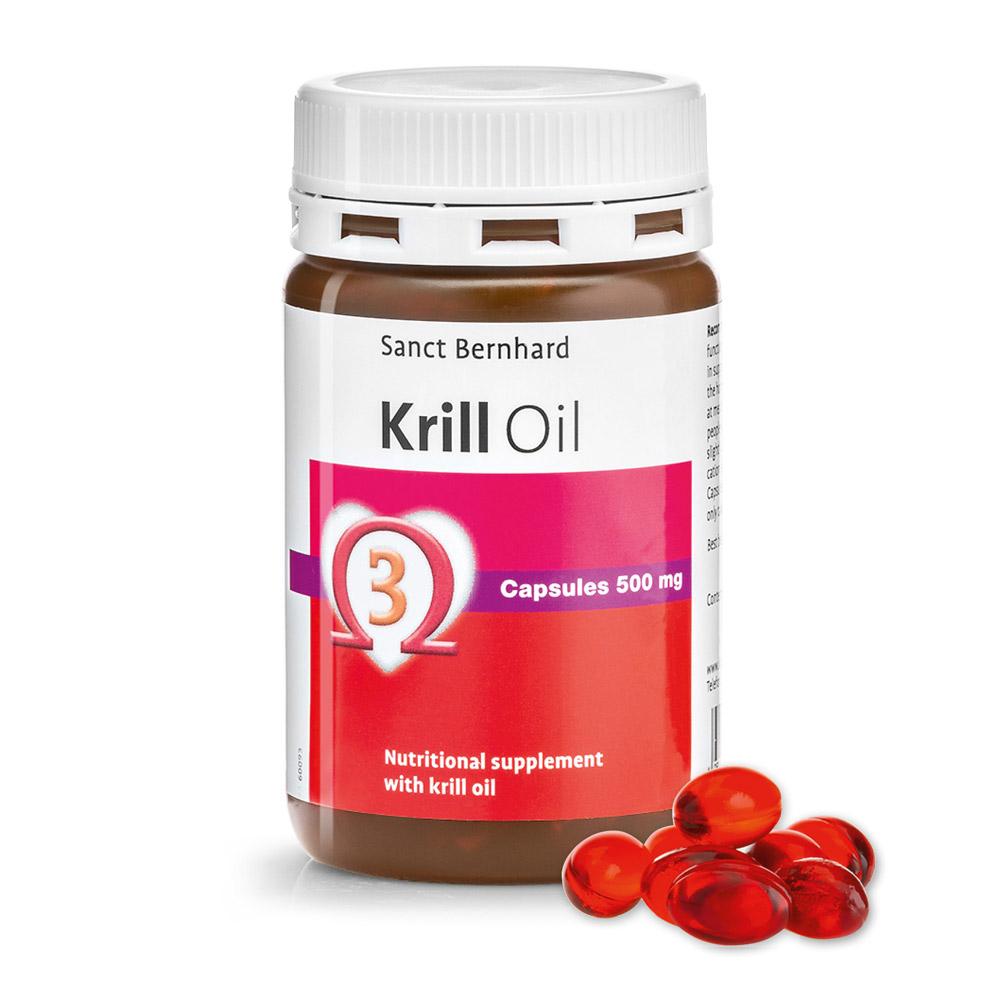 Viên nang bổ sung chất béo từ dầu nhuyễn thể Krill Oil