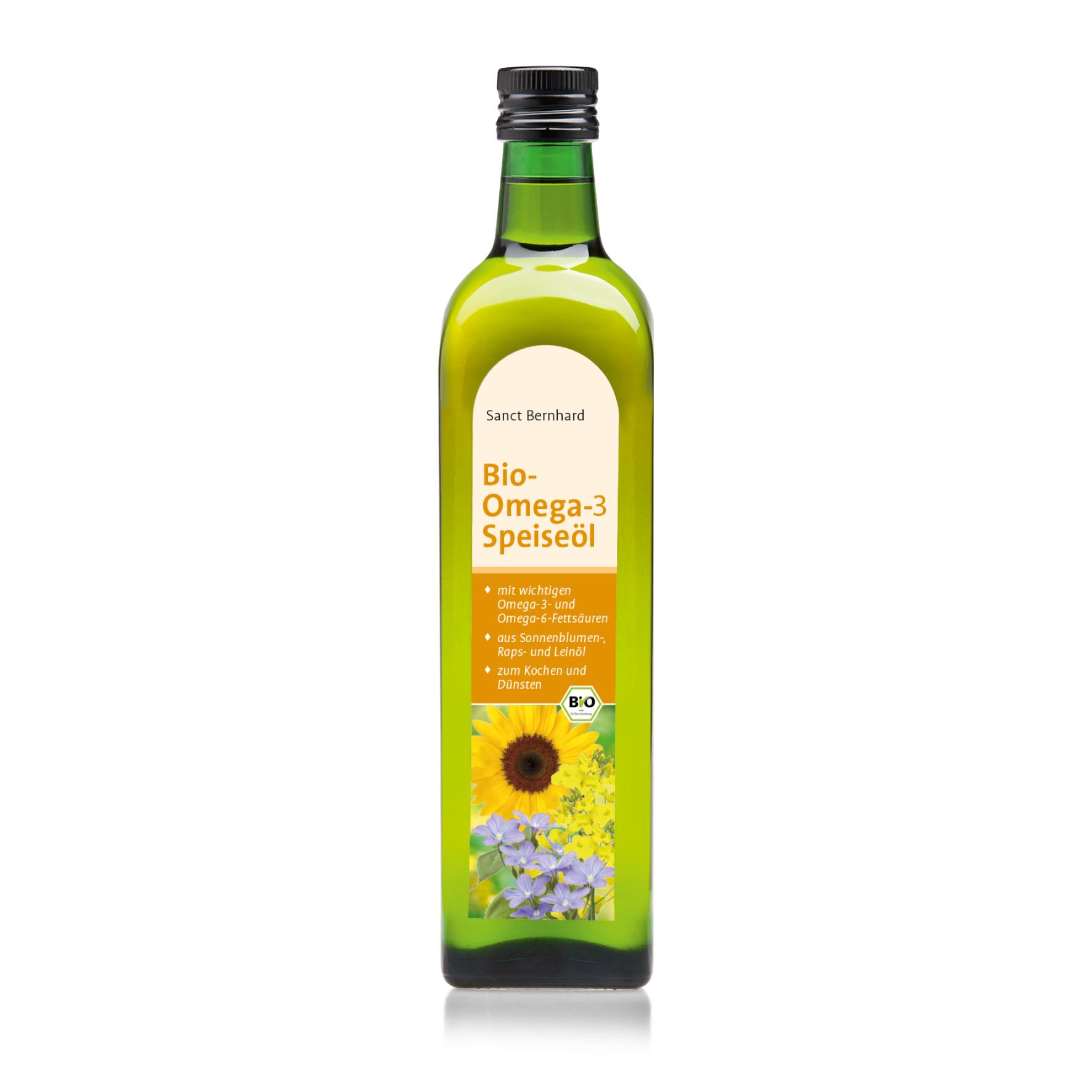 Dầu thực vật Omega 3 hữu cơ Vegetable Oil