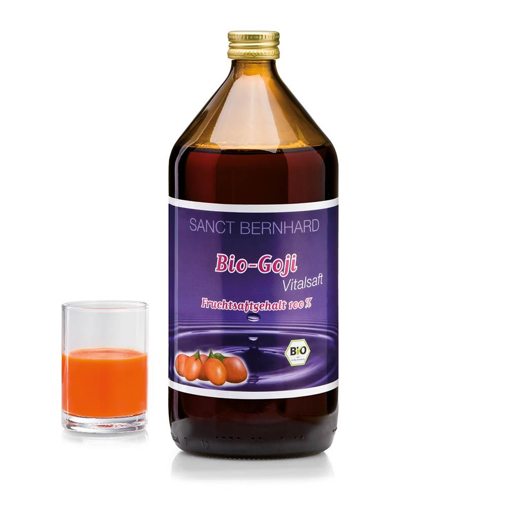 Nước ép trái cây Organic Goji juice giúp bảo vệ sức khỏe