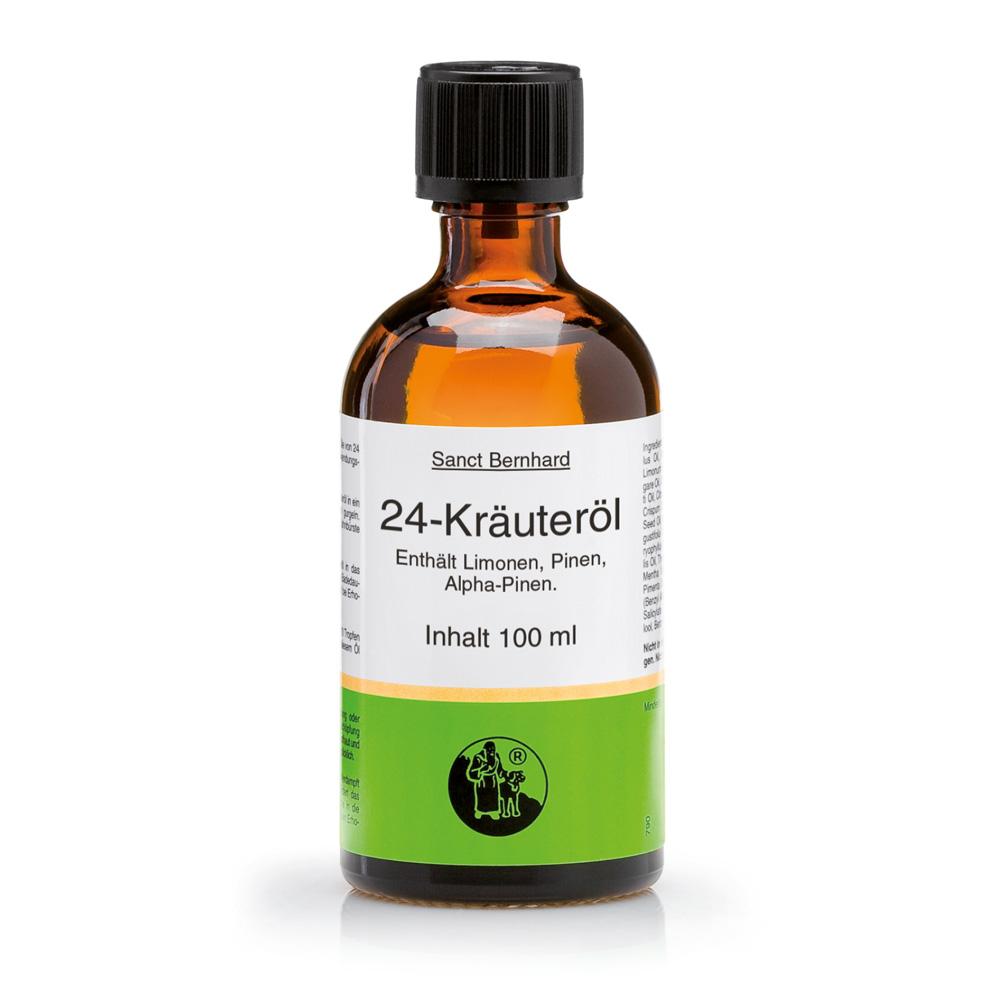 Tinh dầu nguyên chất từ 24 thảo dược Herbs Oil