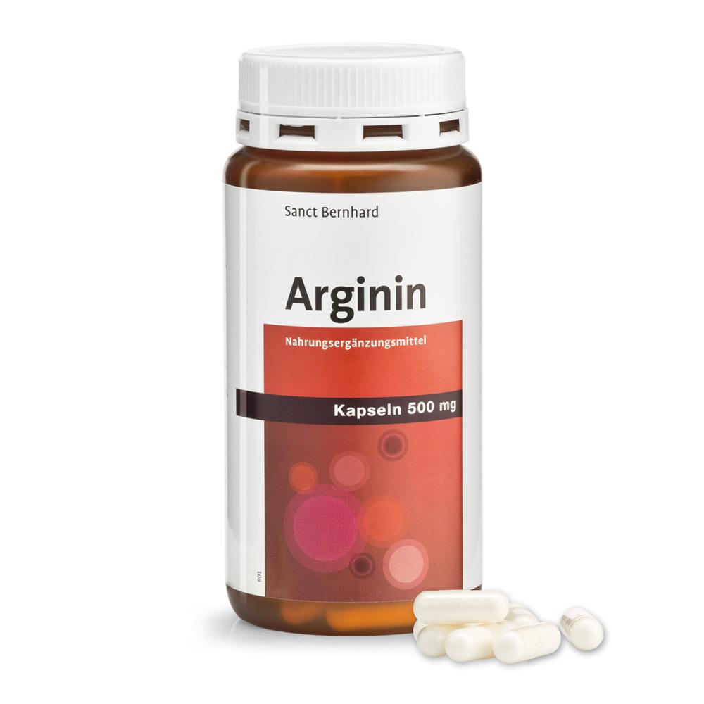 Viên nang bổ gan Arginine Capsules 500 mg
