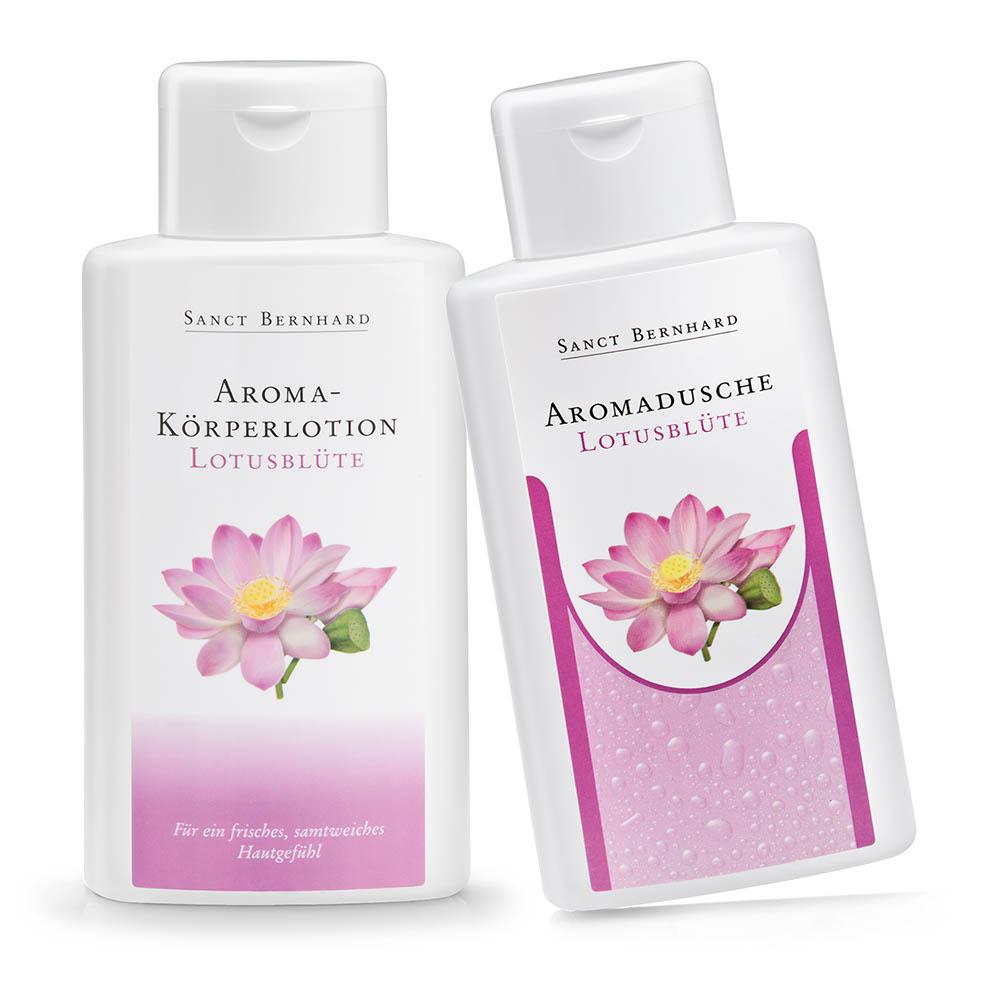 Bộ sữa tắm và sữa dưỡng thể hoa sen Lotus Flower Scented