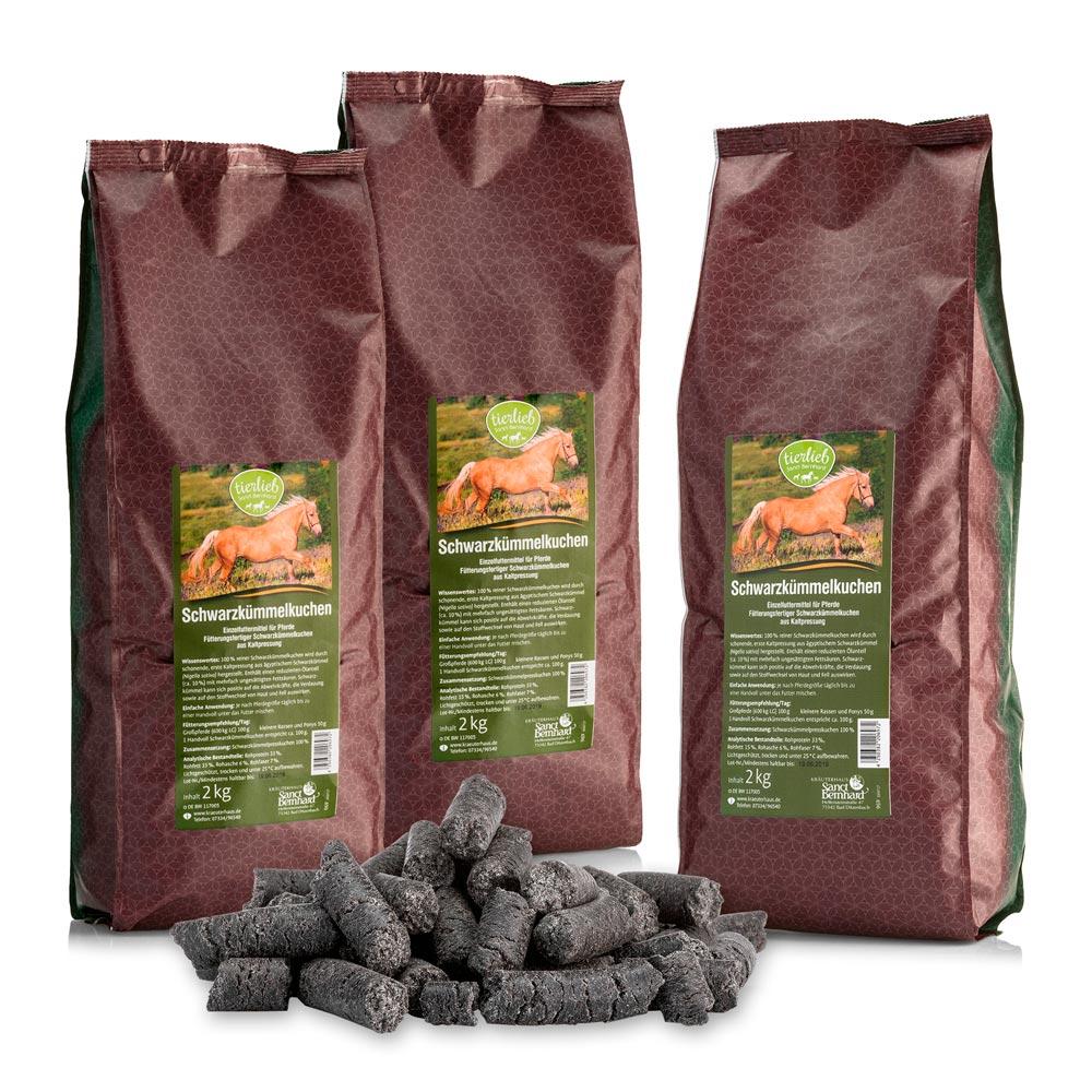 Hỗn hợp thức ăn cho ngựa thì là đen Feed for Horses