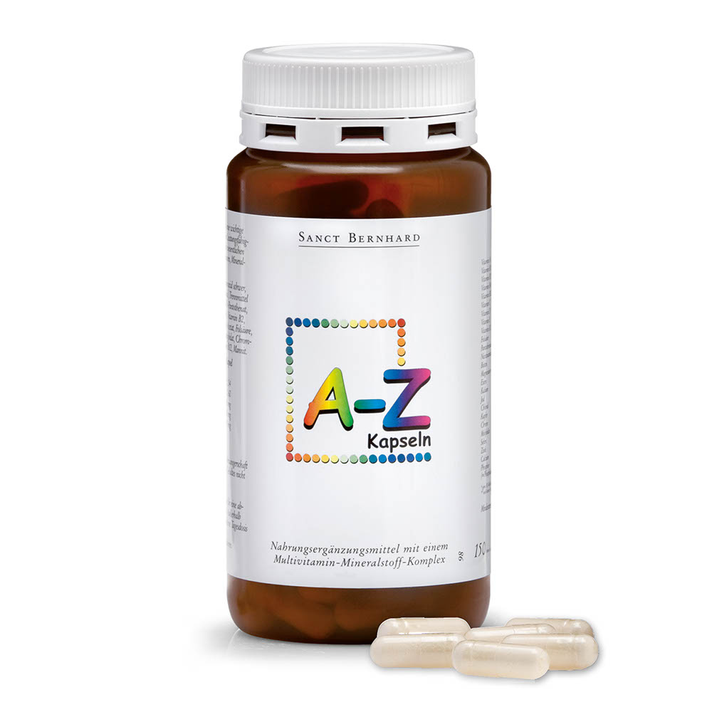 Viên nang bổ sung Vitamin  A, Z Capsules