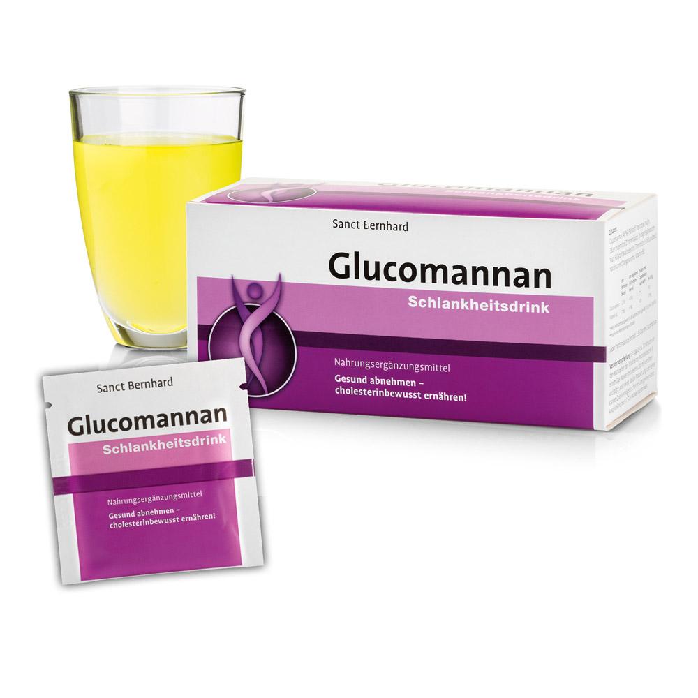 Thức uống giảm cân Glucomannan