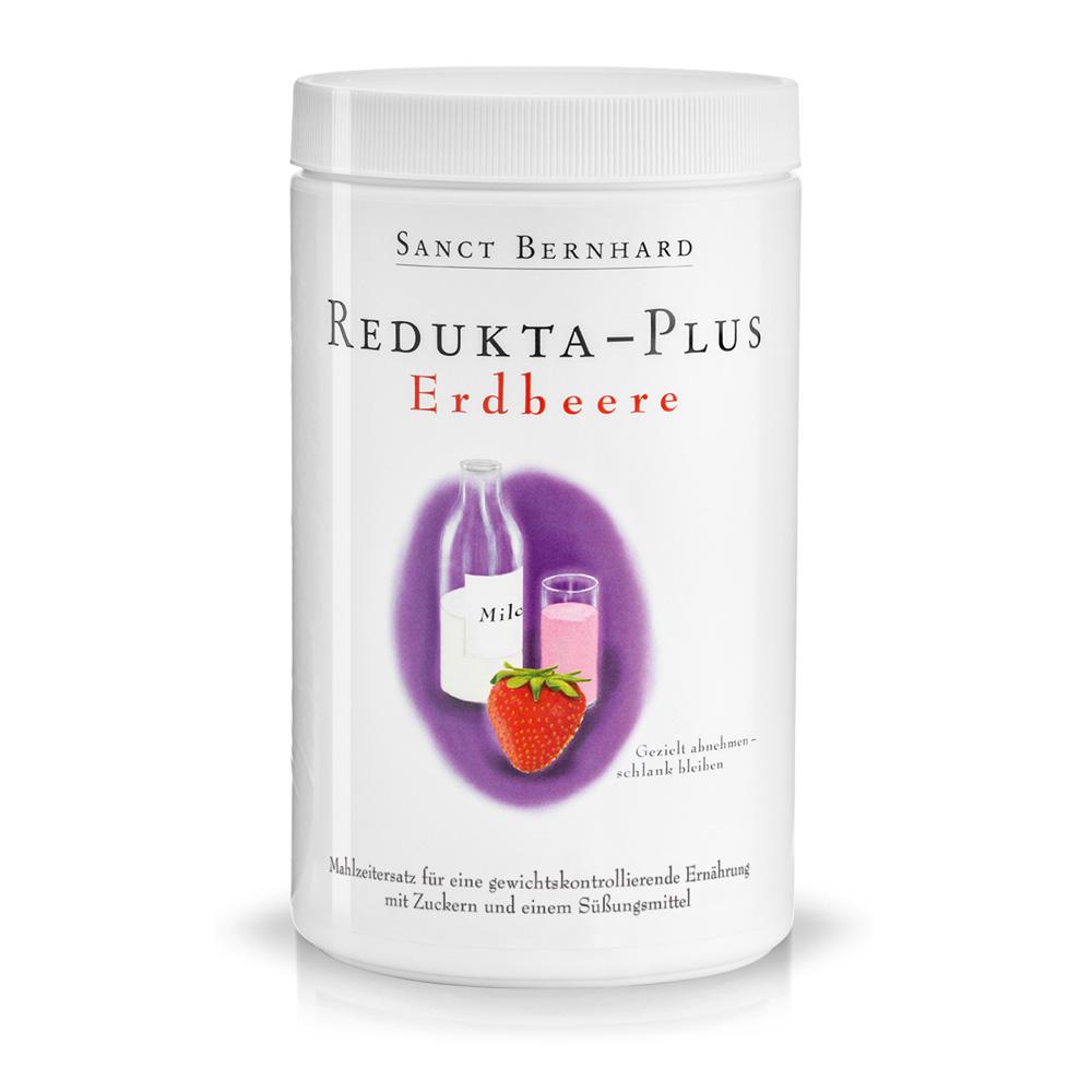 Bột dinh dưỡng cho người ăn kiêng Redukta PLUS vị Dâu tây-600gram