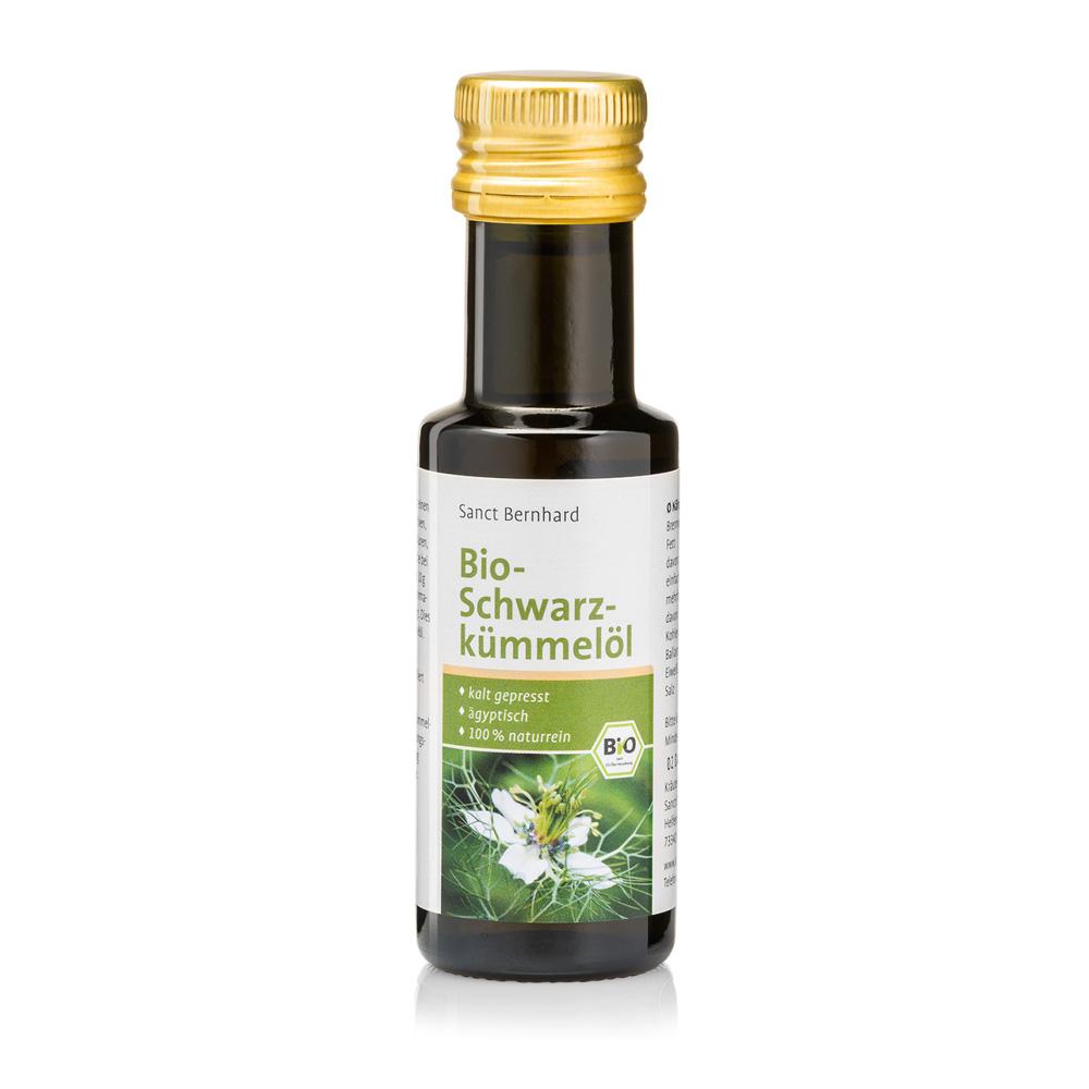 Dầu ăn thì là đen hữu cơ Organic Black Cumin Oil
