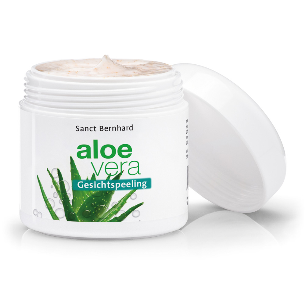 Mặt nạ tẩy tế bào chết lô hội Aloe Vera Face Exfoliation Cream